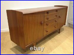 John Herbert design A. Younger Vintage Retro Mid Century Teak AFROMOSIA Sideboard