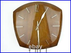 Junghans German Vintage Design Mid Century HIGH GLOSS 8 day Retro Wall Clock