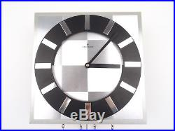 Junghans Vintage Design Mid Century SPACE Retro Wall Clock (Kienzle Hermle era)