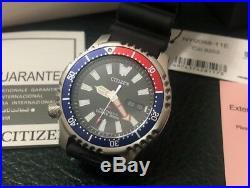 Latest NEW Citizen Asia Limited Promaster NY0088-11e Pepsi Dial