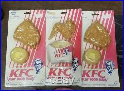 Lot Vintage Gordy Play Food KFC Retro Hong Kong Mid Century