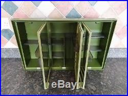 Lovely Vintage Retro Mid Century French Bathroom Medicine Cabinet (2 Available)