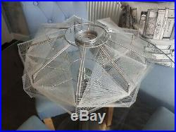 Lucite/perspex Lamp Shade. Vintage mid Century 69s/70s