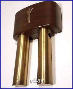 MID-CENTURY NUTONE DOORBELL 1950s VINTAGE DOOR BELL DING DONG CHIME ART DECO
