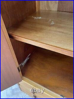 MID Century Vintage Retro Storage Cabinet Cupboard With Drawers Delivery