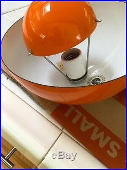 MINT NOS Verner Panton Flowerpot Pendant Light 1969 Louis Poulsen Never Used