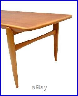 Mid Century Danish style Vintage Retro Coffee table 1960s, Made in Scandinavia