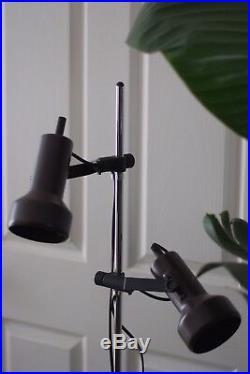 Mid Century German Lamp Modernist lines. Rare, Authentic, Vintage, Retro, Mint