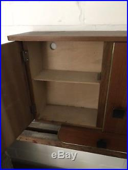 Mid Century ITALIAN Medicine Bathroom Apothecary Cabinet VENETIAN RETRO VINTAGE