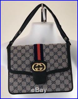 Mid Century Mod Gucci Handbag Vintage Bootleg Mcm Retro Bag Convertible Clutch G