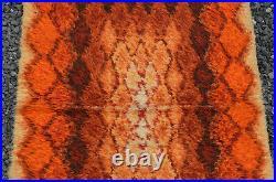 Mid Century Modern Abscract Orginal Space Age Carpet Rug Eames Colani Panton era