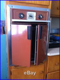 Mid Century Modern French Door Wall Oven Vintage Retro