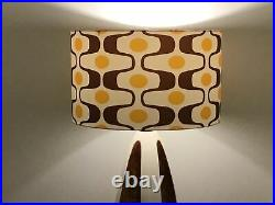 Mid Century Modern Vintage Style Lamp Shade Atomic Retro 8811