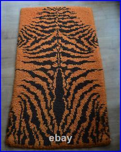 Mid Century Pop Art Space Age Panton Carpet Rya Rug Modernist Eames Colani Era