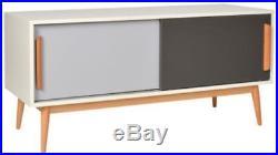 Mid Century Sideboard Scandinavian Wood Cabinet Vintage Retro TV Unit Furniture