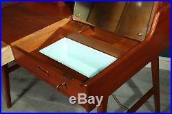 Mid Century Teak Desk by Arne Wahl Iverson Model 65, vintage, original