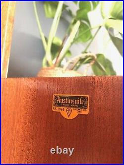 Midcentury Light oak bedside cabinets Retro Vintage AUSTINSUITE UK del