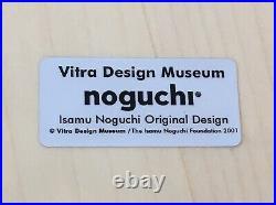NIB Authentic Vitra Discontinued Noguchi Rocking Stool Eames Akari Yanagi Knoll