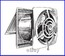 Charmant NOS VINTAGE Mid Century Modern Retro NUTONE 8110SA Kitchen Exhaust WALL FAN