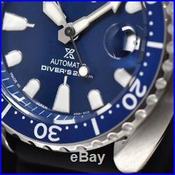 New Seiko Prospex MINI Turtle Japan SRPC39J1 Auto 200m Diver Blue dial 42.3mm