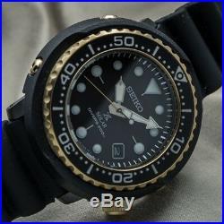 New Seiko SNE498P1 Prospex Reedition Divers 1978 Blk Gold solar tuna 46.7MM 200m