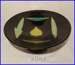Nice MID Century Italy Plate Cake Stand Vtg Antique Mod Retro Modern Eames Era