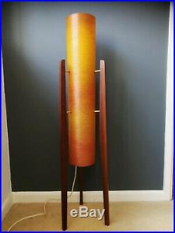 Novoplast' Rocket Lamp' mid 20th century retro vintage tripod atomic lamp