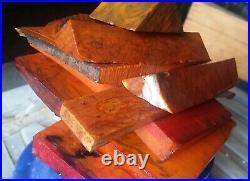 Orig. German Antique Old amber Bakelite / Catalin Block Veined marble 1100 Gramm