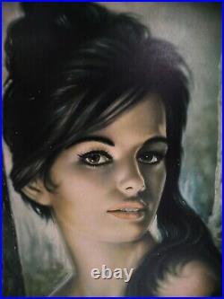Original 1960s Tretchikoff J H Lynch Tina original frame