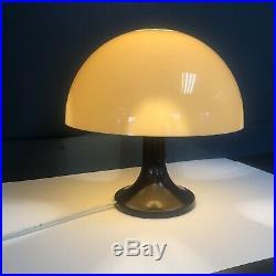 Original Mid Century Vintage 1960s Retro Softlite Mushroom Lamp By Gilbert