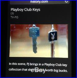 PAWN STARS 1959 Vintage Playboy Club FOUNDER C1 key1 of 8 APPRAISED @ $100K