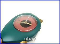 POSTMODERN 80s ITALIAN DESIGN VINTAGE MEMPHIS TABLE CLOCK BY TIMESTONE
