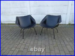 Pair Fm04 Lounge Chairs Vintage Cees Braakman Pastoe Dutch Design French Style