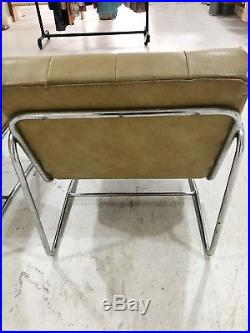 Pair of Mid Century Vintage Retro green Lounge Arm Chairs 1960s 70s