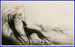 RARE LOUIS ICART COURSING II authenticated by icart BOOK AUTHOR MINT CONDITION