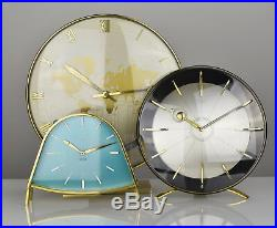 RARE Mid Century Modern Kienzle Desk / Table / Shelf Clock Vintage Retro