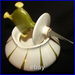 RARE Vintage COCKTAIL OLIVES Pxie withSPEAR Holt Howard Pixieware Jar