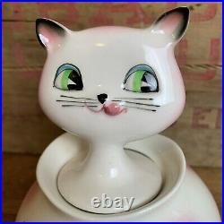 RARE Vintage Holt Howard Cat Cozy Kitten Pixie Jam n Jelly Jar