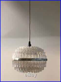 RE-WIRED VINTAGE MID CENTURY PENDANT LAMP Retro Modem Scandi Danish 50s 60s