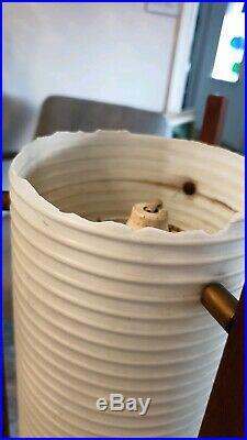 RETRO VINTAGE MID CENTURY TEAK DANISH 50s 60s 70s ROCKET LAMP
