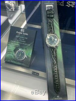 Rare Grand Seiko Limited Edition 150pc Jade Green SBGW255 Thongsia group Limited