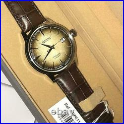 Rare New SEIKO SRPE11J1 Men's PRESAGE Coffee Cocktail Asia Limited Edition #1300