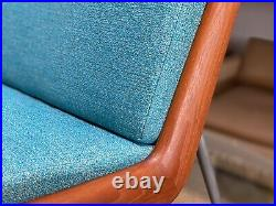 Rare Peter Hvidt & Orla Molgaard Nielsen Boomerang Chair for John Stuart