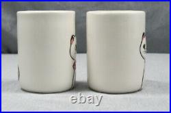 Rare Vintage 1960s Holt Howard Cozy Kitten Ceramic Juice set of 2 Cups Japan