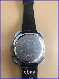 Rare Vintage Retro Tradition Chronograph Mens Watch Mid Century 1960s Working