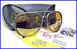 Ray-Ban USA NOS Vintage B&L Hl Perf Cats 5000 General RB-50 W0696 New Sunglasses