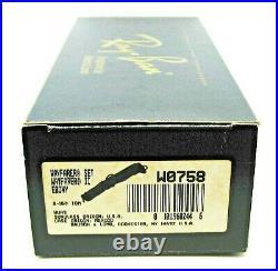 Ray-Ban USA NOS Vintage B&L Wayfarer II W0758 TGM B15 Ebony NewInBox Sunglasses