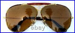 Ray-Ban USA Vintage B&L Aviator Ambermatic Tortuga Bullet H Shooter Sunglasses