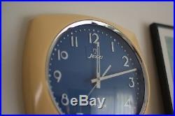 Retro Jeco Electric Quartz Clock, Mid Century, Classic, Rare, Vintage, Japan