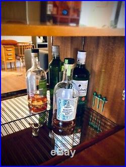 Retro Mid Century Cocktail Cabinet Drinks Gin Bar 1960s Vintage Display Unit UK